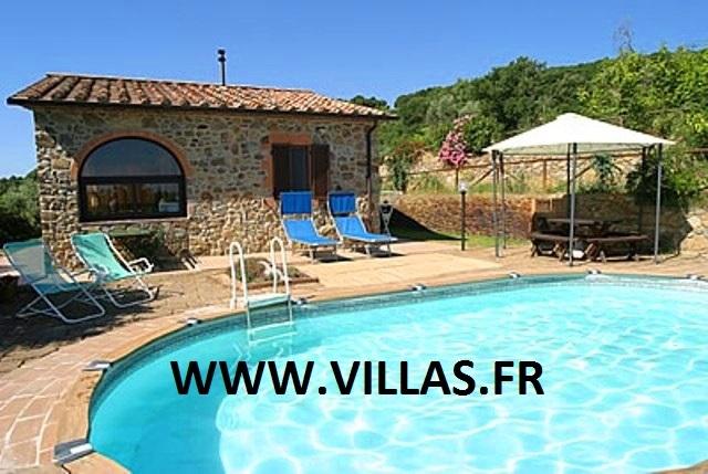 Location villa piscine grosseto 4 personnes itb corbe for Location maison piscine italie