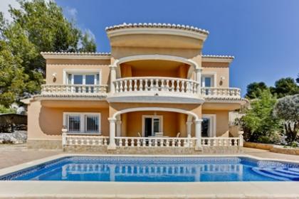 Location villa piscine calpe 6 personnes aa84 for Villa espagne piscine