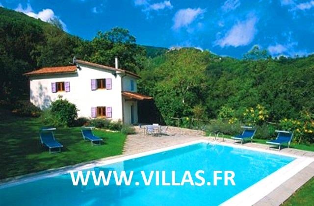 Location villa piscine lucques lucca 4 personnes itb lavan for Location villa toscane piscine