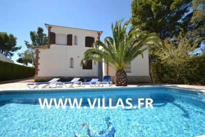 Location villa  piscine GX CARDO 1
