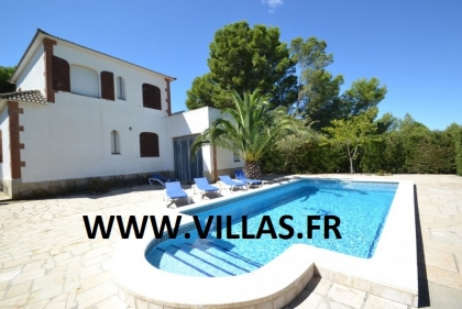 Location villa  piscine GX CARDO 2