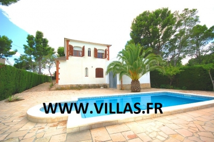 Location villa  piscine GX CARDO 6