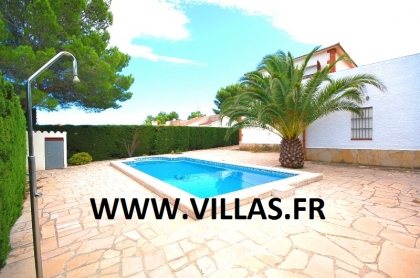 Location villa  piscine GX CARDO 7