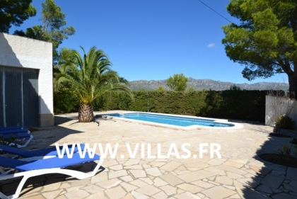 Location villa  piscine GX CARDO 4