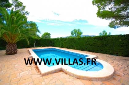 Location villa  piscine GX CARDO 5