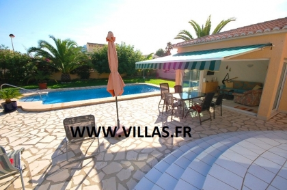 Location villa  piscine AS ANNE 10