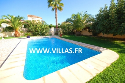 Location villa  piscine AS ANNE 5