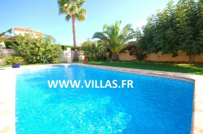 Location villa  piscine AS ANNE 4