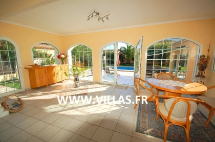 Location villa  piscine AS ANNE 18