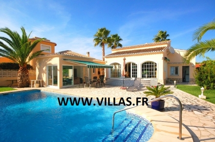 Location villa  piscine AS ANNE 8