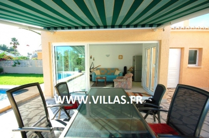 Location villa  piscine AS ANNE 13