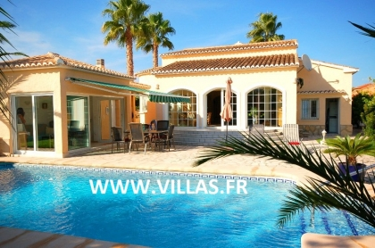 Location villa  piscine AS ANNE 2