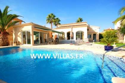 Location villa  piscine AS ANNE 3