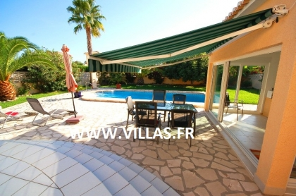 Location villa  piscine AS ANNE 11