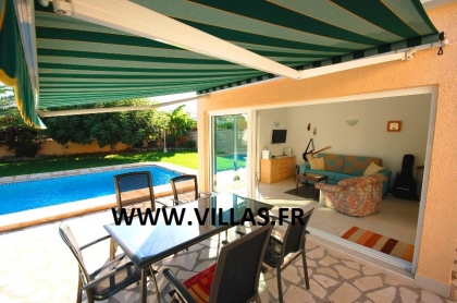 Location villa  piscine AS ANNE 12