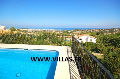 Location villa  piscine AS ANGE 5