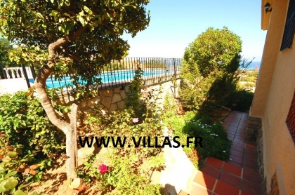 Location villa  piscine AS ANGE 12