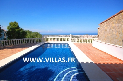 Location villa  piscine AS ISA 4