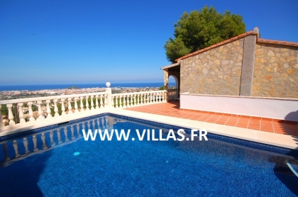 Location villa  piscine AS ISA 3
