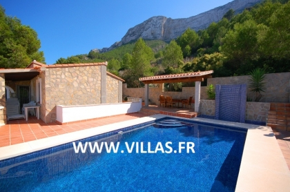 Location villa  piscine AS ISA 2