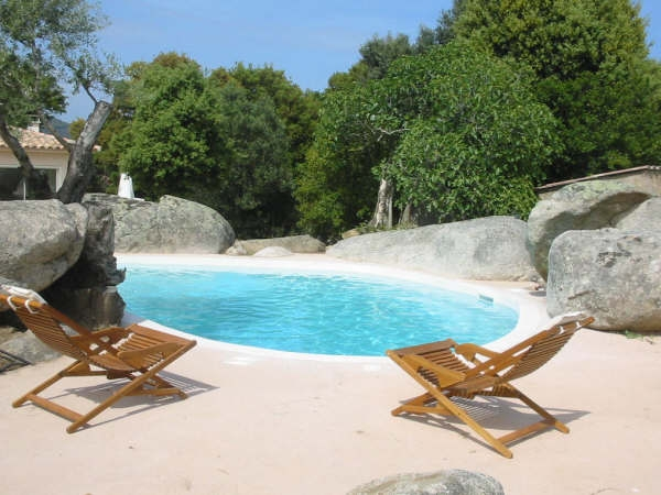 Location villa piscine porto vecchio 6 personnes dp ali for Location villa 4 personnes avec piscine