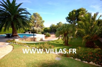 Location villa  piscine GX OLGADA 6