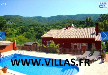 Location villa  piscine CV ESCA 1