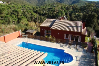 Location villa  piscine CV ESCA 3