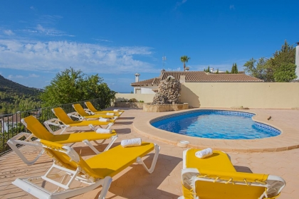 Location villa  piscine OL CLAUDI 3