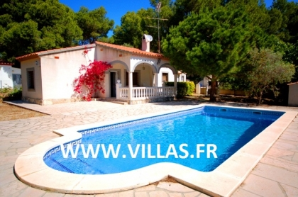 Location villa  piscine DV NID 1