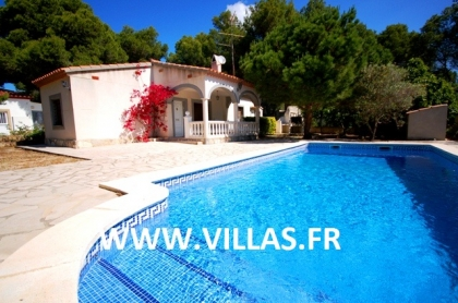 Location villa  piscine DV NID 4