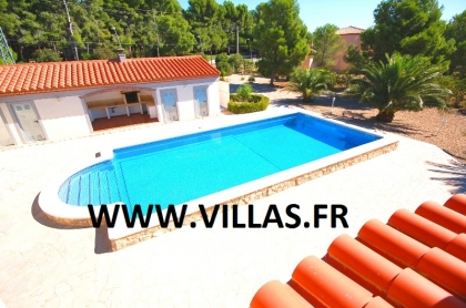 Location villa  piscine CP STELLA 14