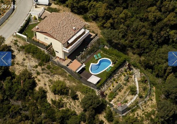 Location villa piscine lloret de mar 6 personnes cv cora for Cora piscine