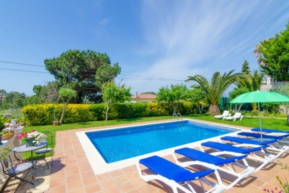 Location villa  piscine CV ORLA 12