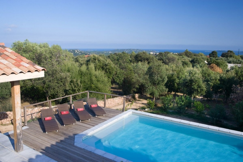 Location villa piscine porto vecchio 8 personnes dp lave for Location villa piscine
