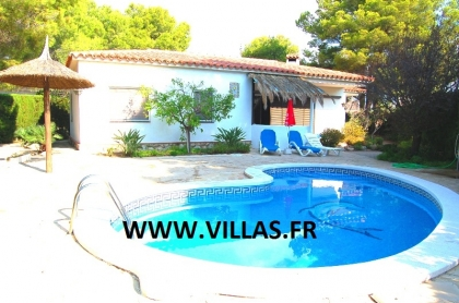 Location villa  piscine CP CARMALLA 2