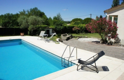 Location villa  piscine GT ABRI 2