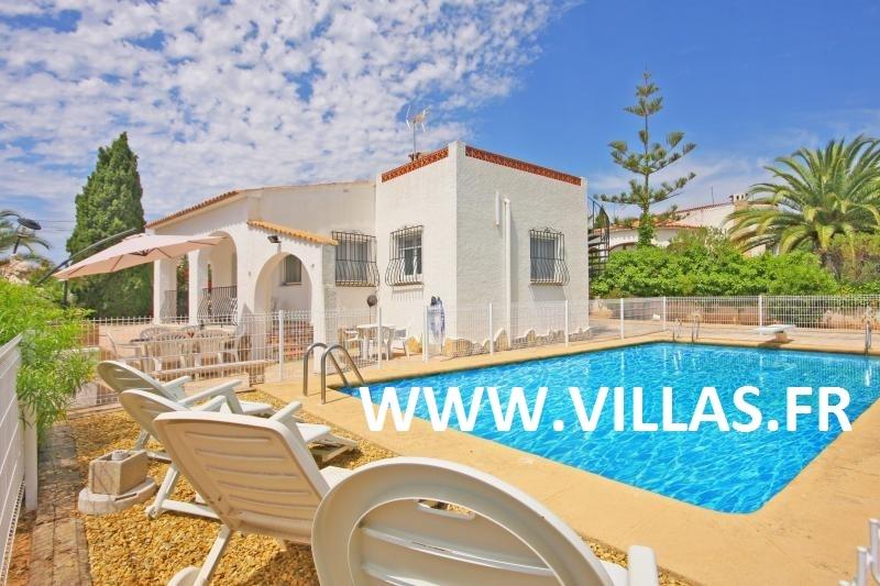 Location villa piscine calpe 6 personnes ol pao for Villa espagne piscine