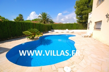 Location villa  piscine CP PAQUI 3