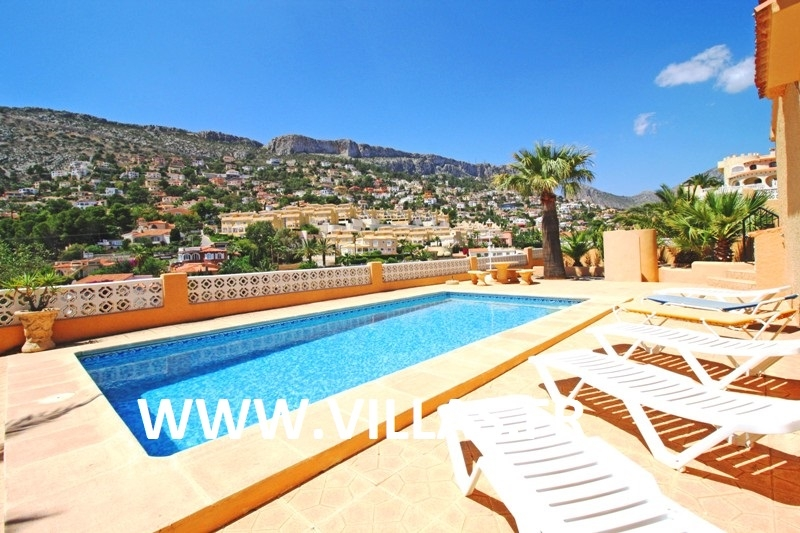 Location villa piscine calpe 6 personnes cc lasro for Location villa piscine