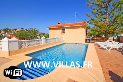 Location villa  piscine CC POZO 1