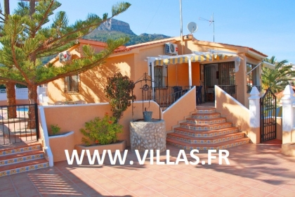 Location villa  piscine CC POZO 2