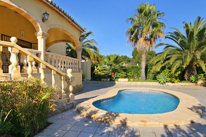 Rental villa  swimming-pool OL LLOB 3