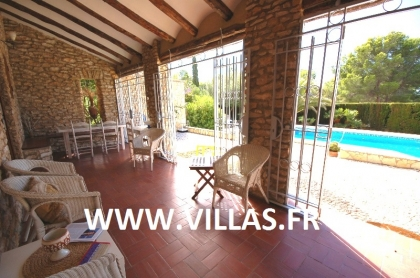 Location villa  piscine GX ELI 18