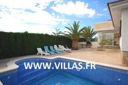 Location villa  piscine GX DORA 4
