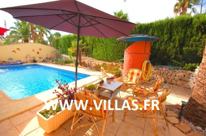 Location villa  piscine VM LUCAS 4