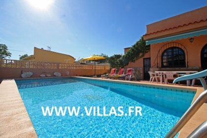 Location villa  piscine CC VAZ 2
