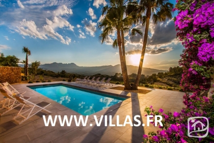Location villa  piscine AB PALMIER 1