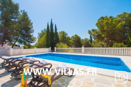 Rental villa  swimming-pool AB CALIF 5
