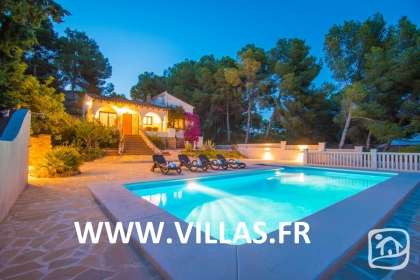 Rental villa  swimming-pool AB CALIF 2